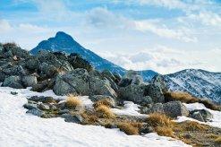 Widok na zakopane i góry Tatry